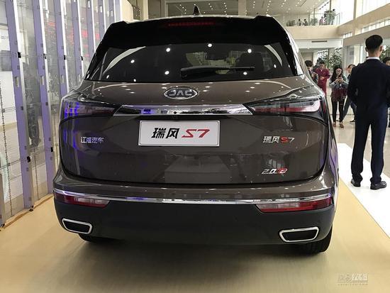 GS8/CS95的新对手 江淮瑞风S7首发亮相
