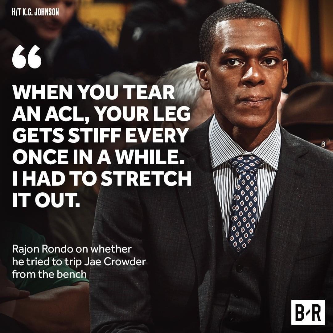 腿傷做伸展?說謊 朗多因抬腿使絆子被罰款2.5萬