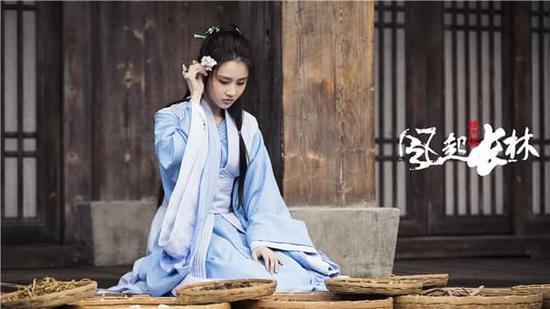 张慧雯在《琅琊榜2》中造型清丽脱俗