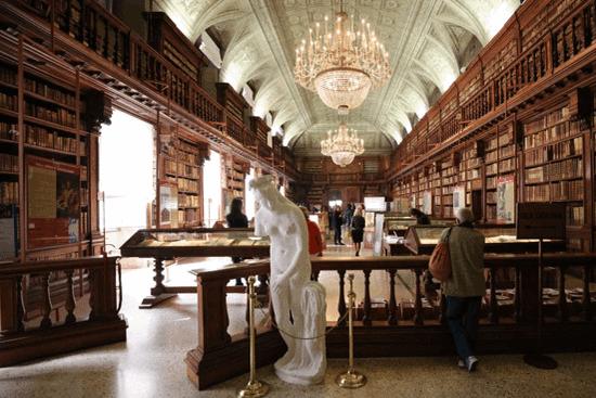 布雷拉美术学院图书馆(摄影:周成刚)