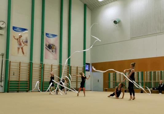 凯撒卡里奥体育学院自由体操课堂