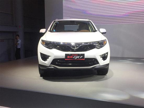 2017成都车展:东南新款DX7售8.99万起