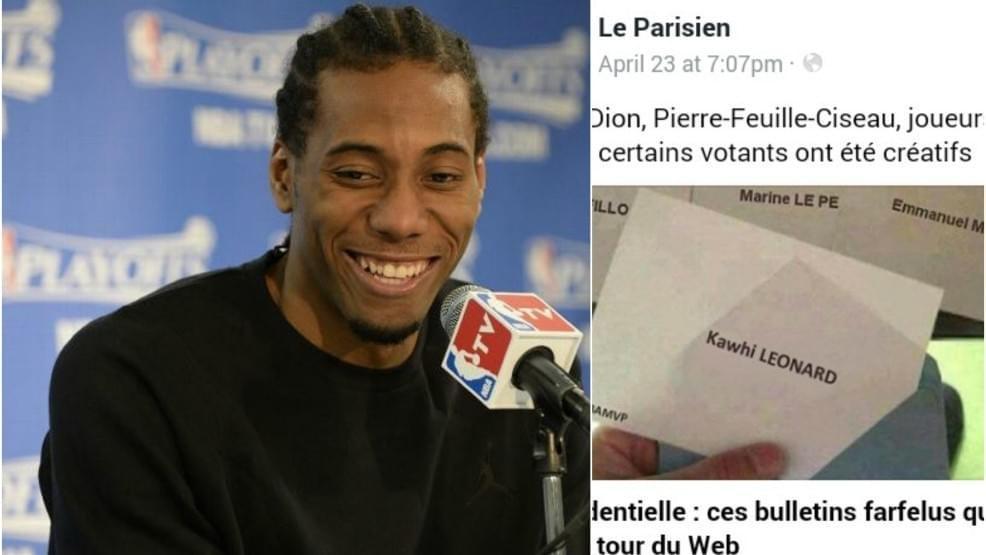 萊納德獲法國大選選票 網友:別裝瞭就是帕克投的