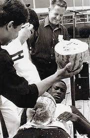 不要命!MJ曾舍命切西瓜 险被日本武士刀一击腰斩