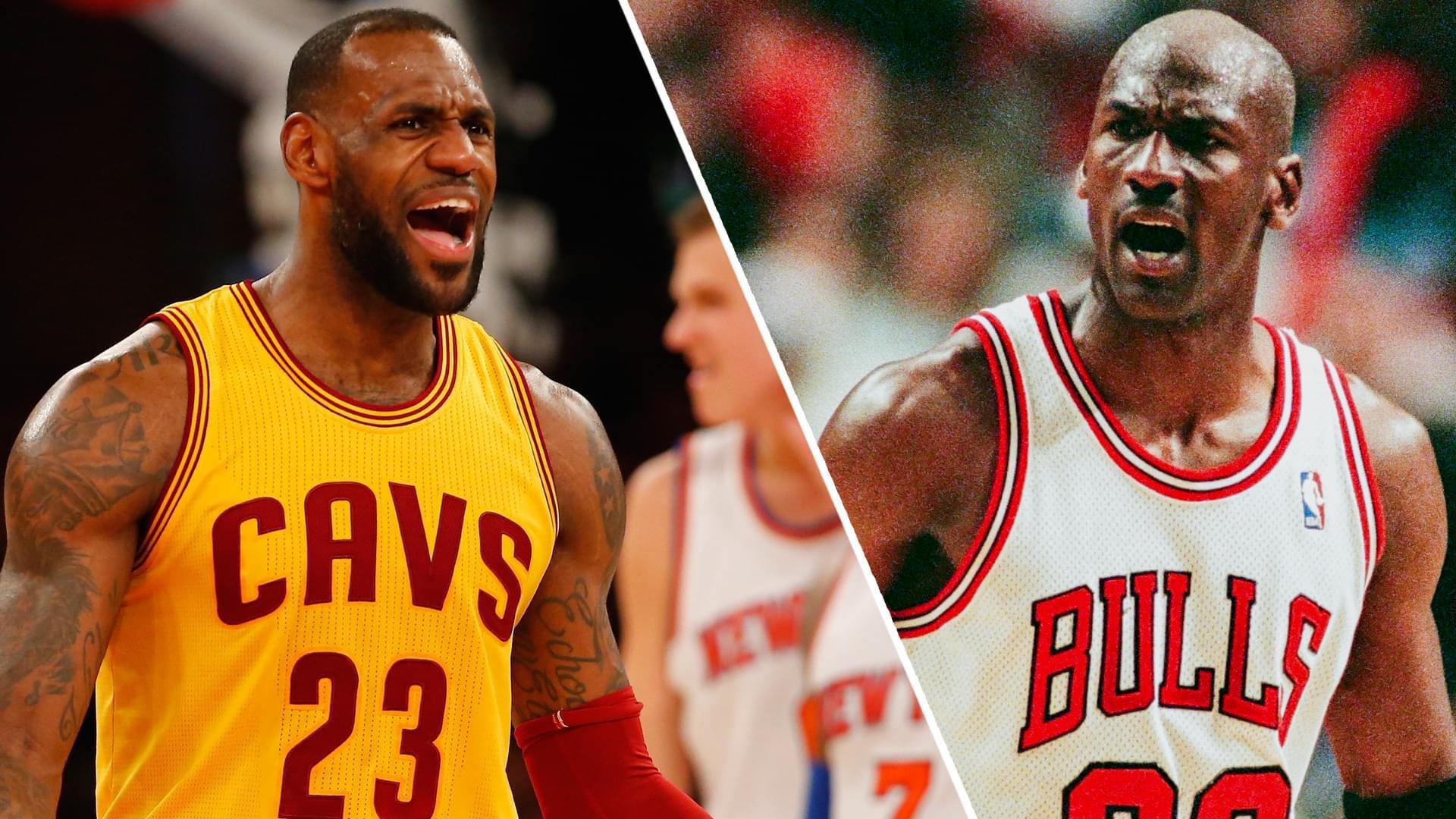 專傢:詹皇季後賽對手不如MJ? 騎士時期真不輕松