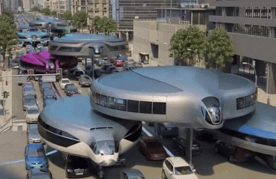 继巴铁后又一神器 俄罗斯公司设计单轨飞碟