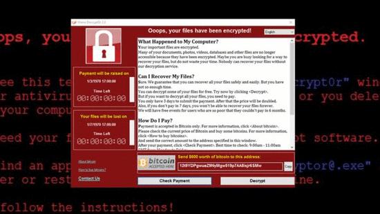 电脑勒索病毒让99个国家中招 究竟是谁干的?