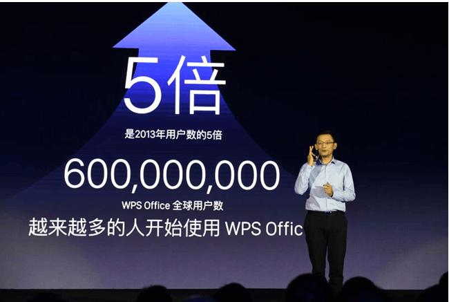 WPS+正式发布 WPS全球用户数已达6亿的照片 - 1