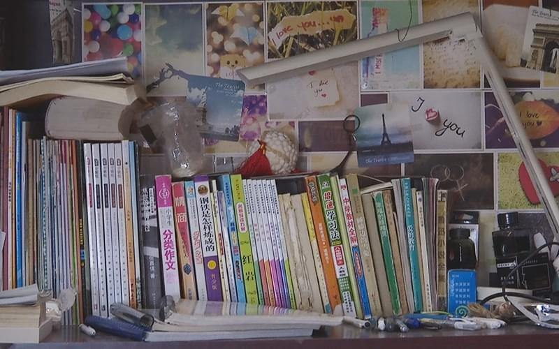 陈欣然的书桌 ,《从你的全世界路过》也在其中