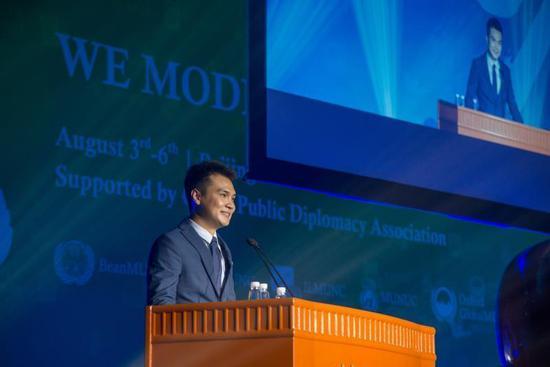 十年之约 不忘初心全球青年模拟联合国大会迎来十周年