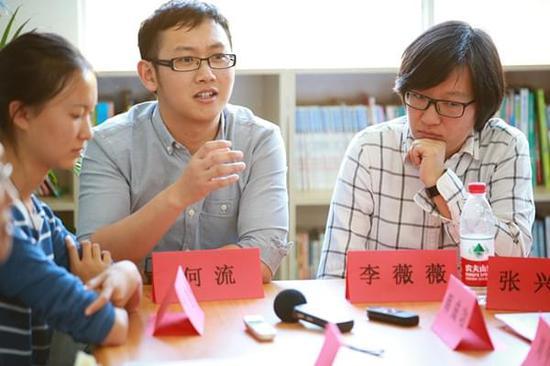 大寨中学最早支教老师何流、李薇薇回归