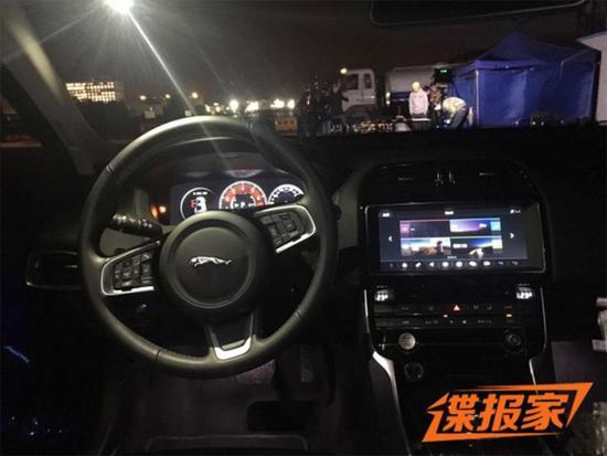 延续进口版设计 奇瑞捷豹XEL内饰曝光