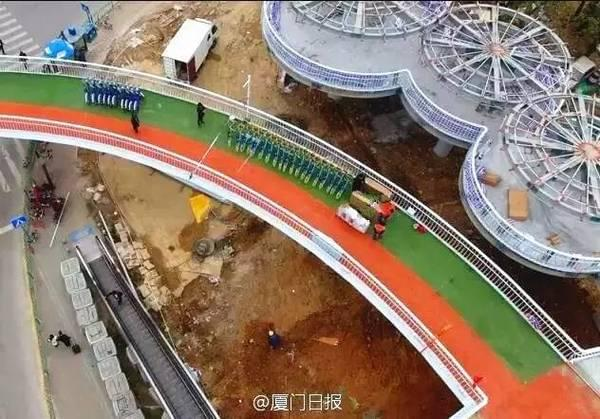全国首条空中自行车道建成 全长7.6公里的照片 - 16