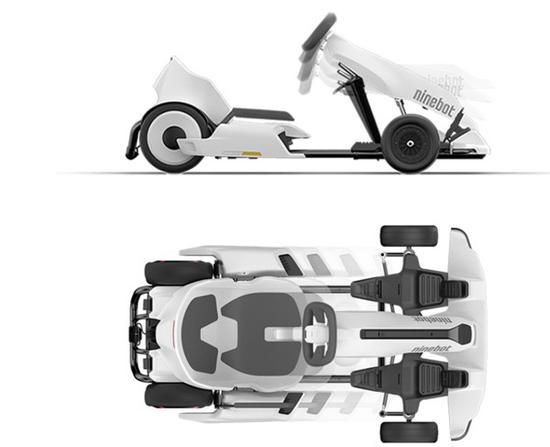 小米九号平衡车卡丁改装套件今日首发