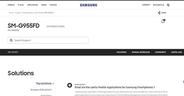 三星官网偷跑Galaxy S8 Plus双卡版:6.2寸曲面高屏占的照片 - 2