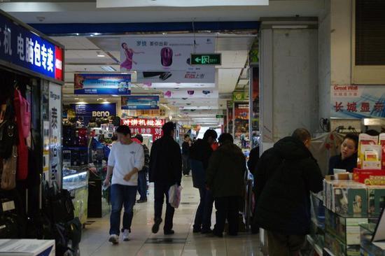 误入中关村二手手机店 被骗千元后报警