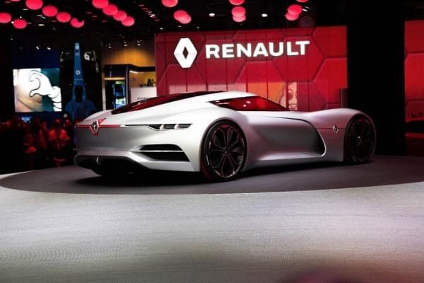 雷诺发布Trezor概念电动超跑:使用蛤壳式车门的照片 - 15