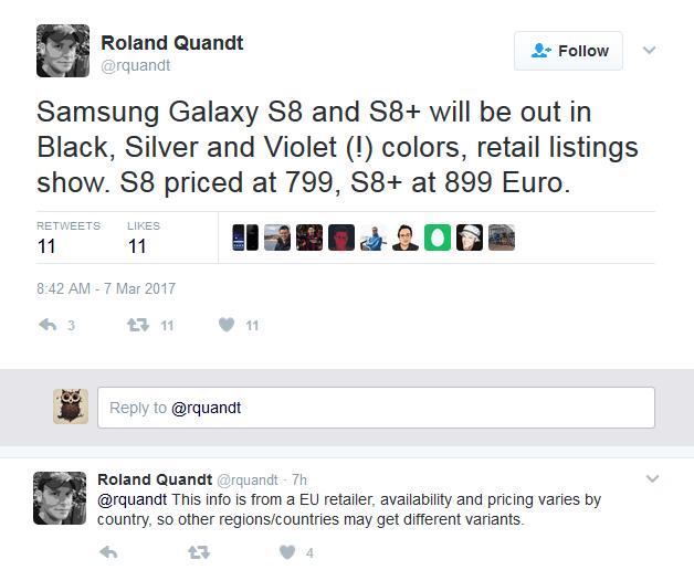 三星Galaxy S8售价曝光:5800元起/本月发布的照片 - 3