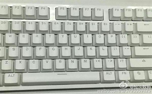"""""""小米""""机械键盘就长这样?299元/樱桃轴的照片 - 1"""