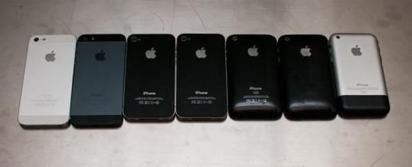 完美似水滴 历代iPhone的设计一体化野心的照片 - 5