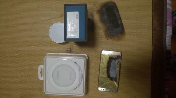 疑似国行三星Galaxy Note 7第二炸:凉席烧出洞的照片 - 7