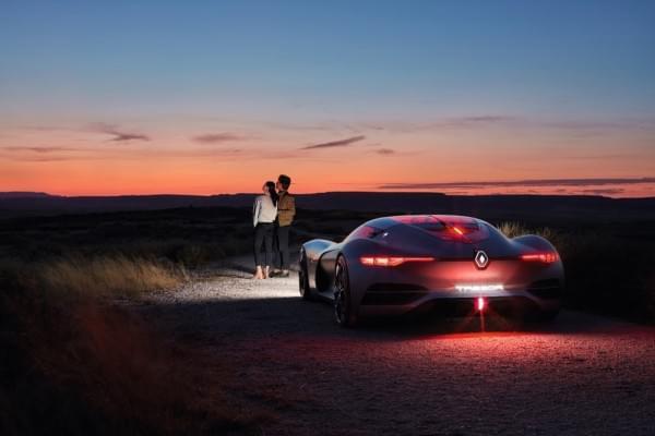 雷诺发布Trezor概念电动超跑:使用蛤壳式车门的照片 - 41