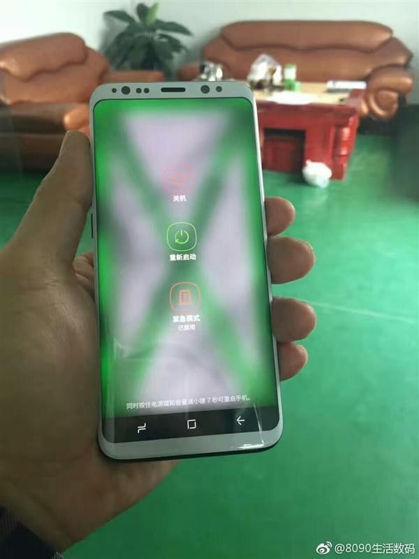 Galaxy S8真机贴膜多图曝光:顶部开孔多到密恐的照片 - 2