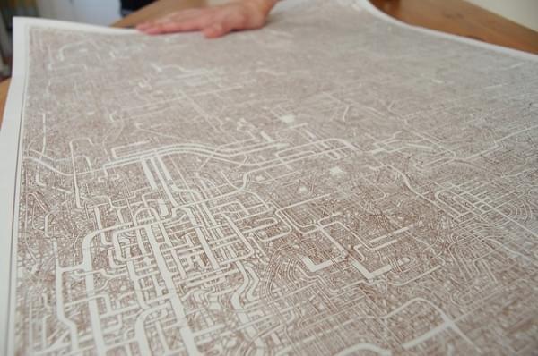 日本惊现超复杂迷宫图:竟然有近一米长的照片 - 2
