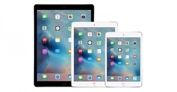 苹果的三款新iPad要到2017下半年才会发布的照片