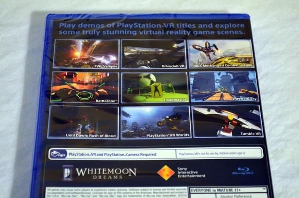 索尼PS VR零售版开箱 附赠这几款游戏大作的照片 - 8