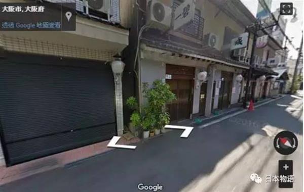好尴尬:日本红灯区妹子出现在Google街景中的照片 - 3