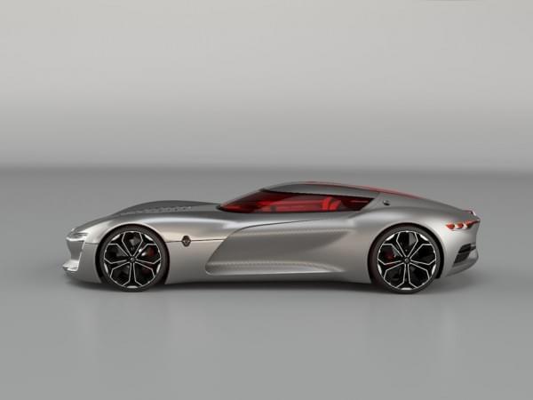 雷诺发布Trezor概念电动超跑:使用蛤壳式车门的照片 - 24
