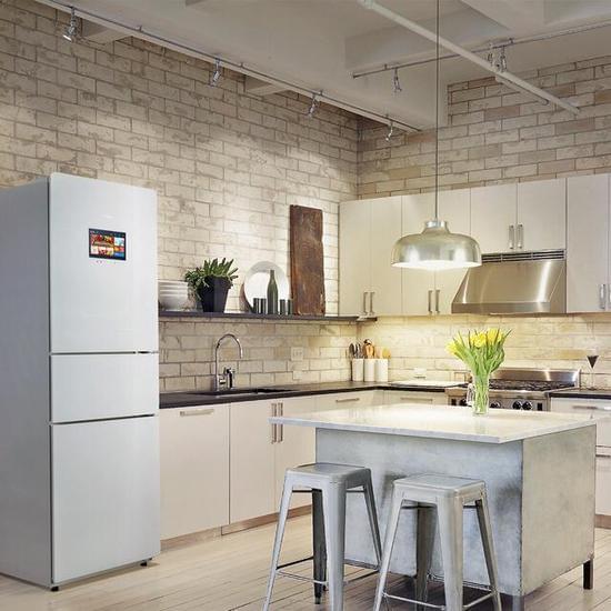 刘强东称京东自主品牌智能冰箱即将上市的照片 - 1