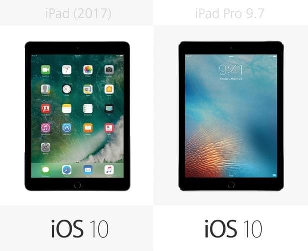 2017年款iPad和9.7寸iPad Pro规格参数对比的照片 - 19