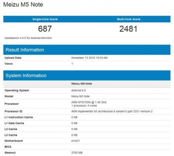 魅蓝Note 5新机现身:Helio P10+3G内存的照片 - 3