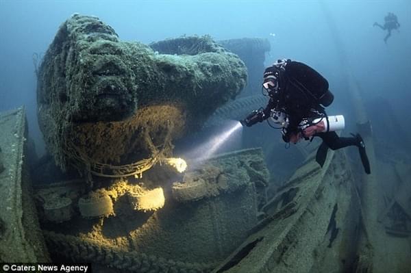 """探险家花25年终于找到二战""""黄金沉船""""的照片 - 2"""