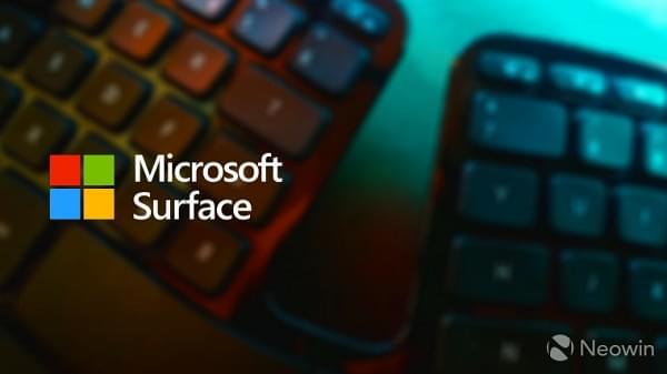 报道称微软正在打造一款Surface人体工学蓝牙键盘的照片 - 1