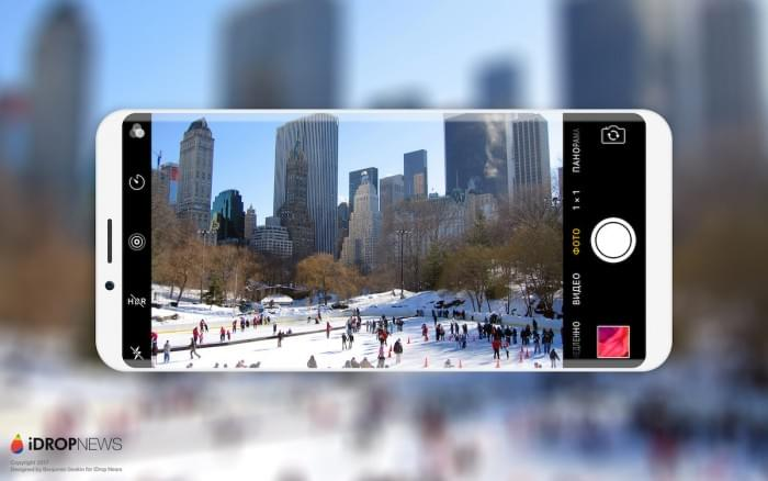设计师绘制出亮黑色和亮白色iPhone 8概念渲染图的照片 - 3