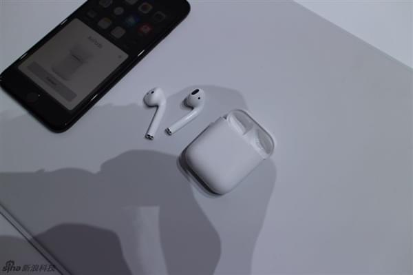 iPhone 7必买 1288元苹果无线耳机AirPods图赏的照片 - 7