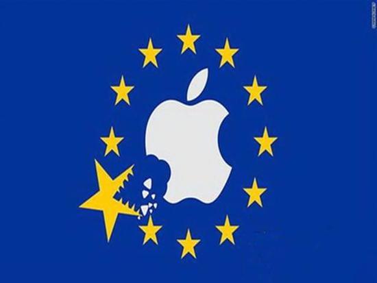 苹果拒缴130亿欧元税款 欧盟追加15亿利息