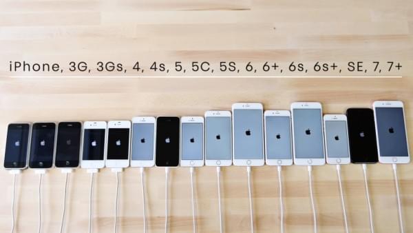 历代iPhone速度大比拼:画面感人