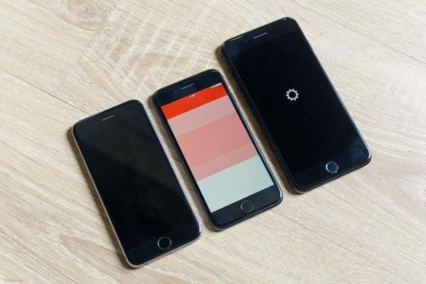 哑光黑和亮黑色iPhone 7划伤后会怎么样?的照片 - 3
