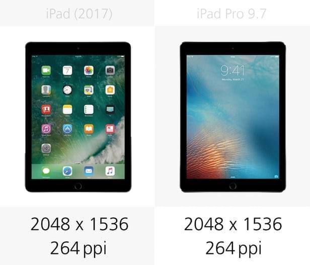 2017年款iPad和9.7寸iPad Pro规格参数对比的照片 - 6
