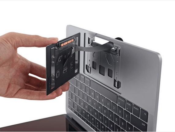 13英寸入门级新MacBook Pro拆解 很难修复的照片 - 14