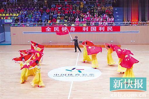 湛江举行广场舞大赛 体彩大力支持