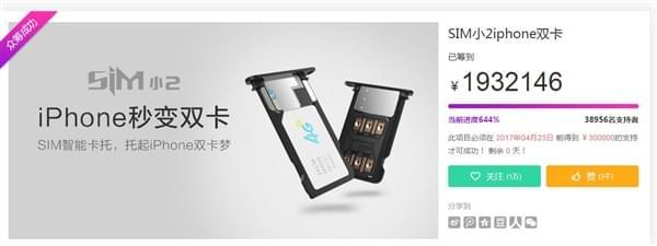 革命性突破 iPhone双卡神器开始发货的照片 - 2