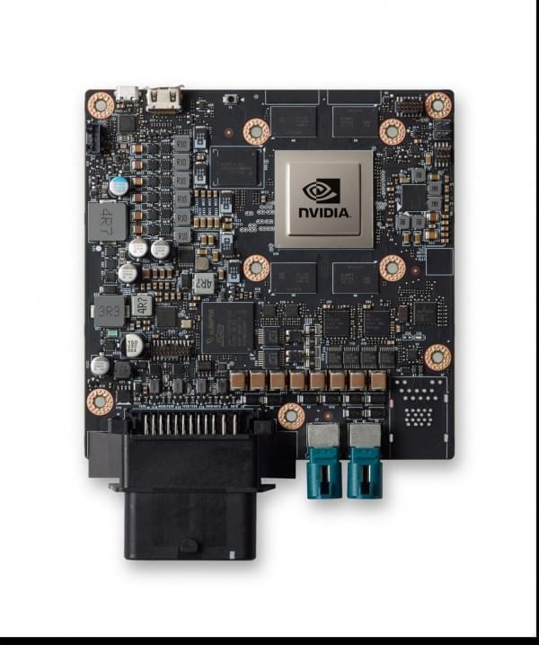 NVIDIA为汽车制造商提供DRIVE PX 2 for AutoCruise车载电脑的照片 - 2