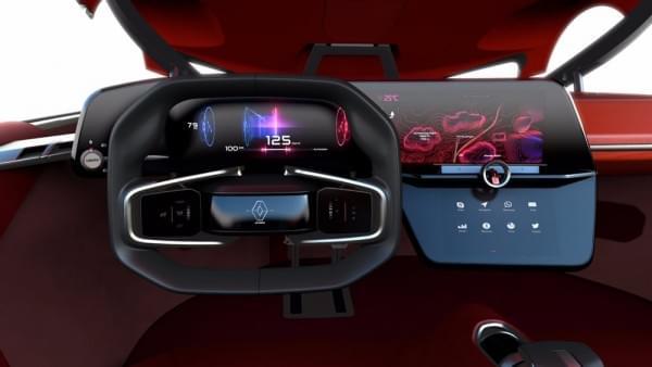 雷诺发布Trezor概念电动超跑:使用蛤壳式车门的照片 - 19
