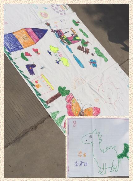 招商銀行太原迎西支行攜手西礦街社區舉辦兒童繪畫比賽
