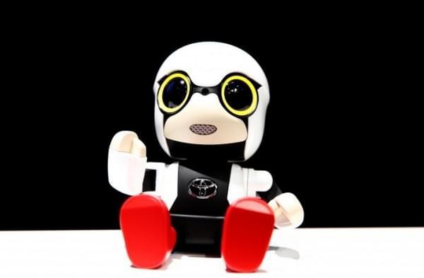 丰田Kirobo Mini机器人伴侣将于明年开始销售的照片 - 1